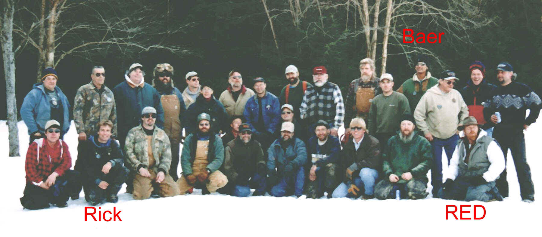 Carvers from the Ridgway Mid - Winter Rendezvous 2000
