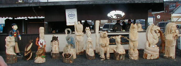 Mid winter chainsaw carvers rendezvous ridgway