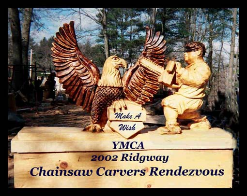Chainsaw carvers rendezvous ridgway pennsylvania