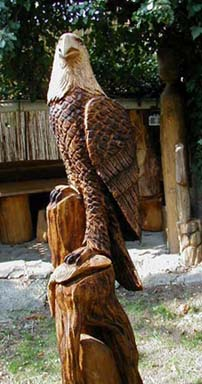 Adler eagle Holzfigure...