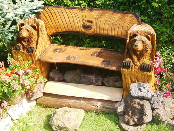 Bären Bank / Bear Bench